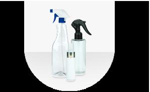 Kunststoff-Sprühflaschen