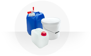 Food buckets and food canisters