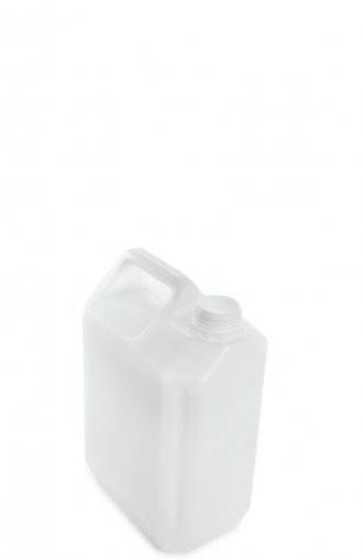 Plastic jerry can natural 5 Litre  without closure Box