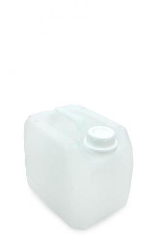 Kunststoff Kanister natur 3 Liter inkl. Schraubverschluss 45mm, DIN 45 weiss