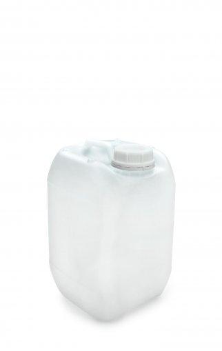 Kunststoff Kanister natur 5 Liter UN stapelbar mit Schraubverschluss DIN 51 weiß