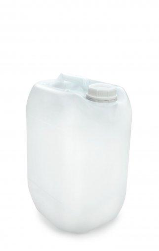 Kunststoff Kanister natur 10 Liter UN stapelbar mit Schraubverschluss DIN 51 weiß