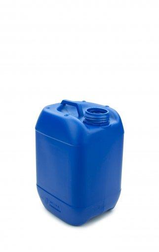 Kunststoff Kanister blau 5 Liter UN stapelbar ohne Verschluss
