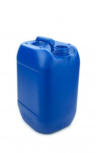 Kunststoff Kanister blau 10 Liter UN stapelbar ohne Verschluss