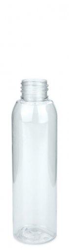 PET Flasche AIDA 125 ml klar ohne Verschluss