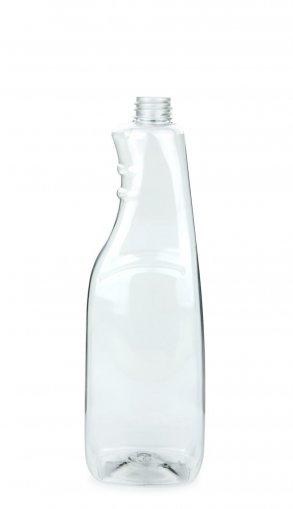 PET Sprühflasche 1000 ml klar ohne Verschluss