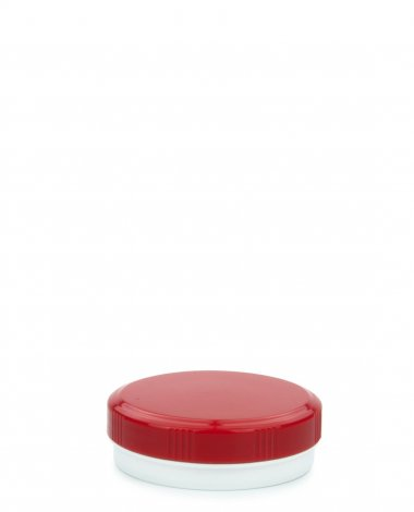 Cremetiegel 30 ml inkl. Schraubdeckel rot