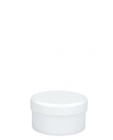 Cremetiegel 60 ml inkl. Schraubdeckel weiß