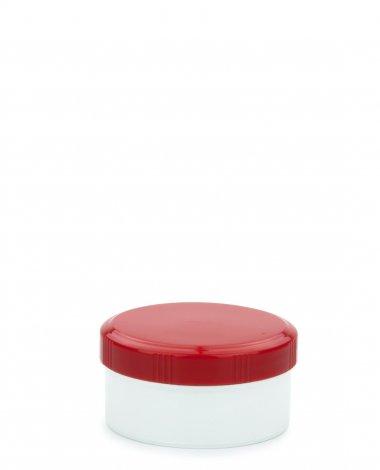 Cremetiegel 60 ml inkl. Schraubdeckel rot