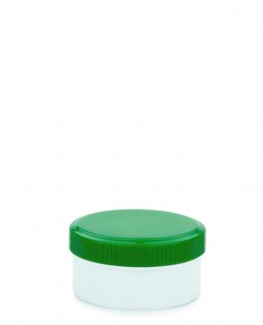 Cremetiegel 60 ml inkl. Schraubdeckel grün