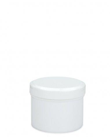 Cremetiegel 75 ml inkl. Schraubdeckel weiß