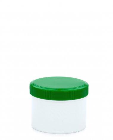Cremetiegel 75 ml inkl. Schraubdeckel grün