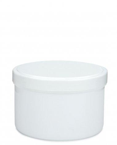 Cremetiegel mit Schraubdeckel 300 ml