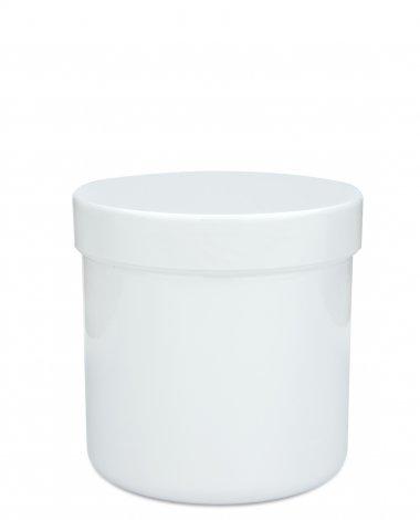 Plastic screw jar with lid 310 ml, 10 oz