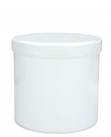 Cremetiegel mit Schraubdeckel 500 ml