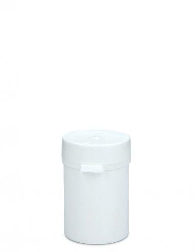 Kunststoffdose 40 ml mit Stülpdeckel und Originalitätsverschluss