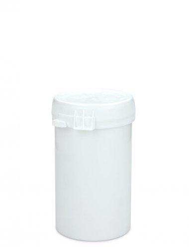 Kunststoffdose 75 ml mit Stülpdeckel und Originalitätsverschluss