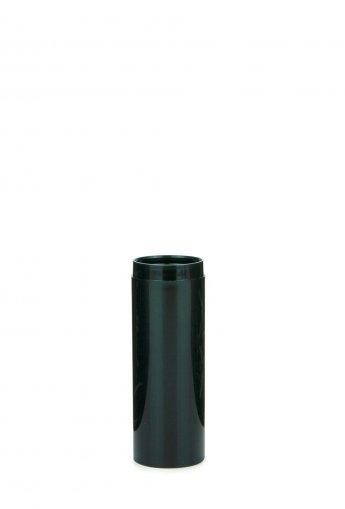 Airless Spender Mezzo 50 ml Behälter weiss Kopf weiss Kappe klar