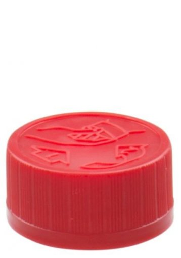 Standard Schraubverschluss DIN 28 KISI rot