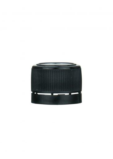 Schraubverschluss 18mm schwarz für PET mini