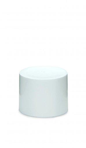 Schraubverschluss 18/415 doppelwandig kantig weiß