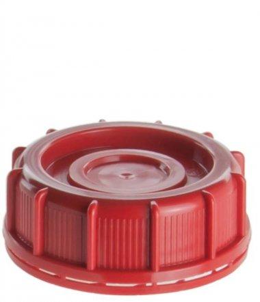 Schraubverschluss 76 mm rot