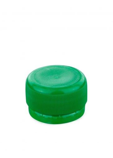 Schraubverschluss PCO 28 grün für PET Kunststoffflaschen