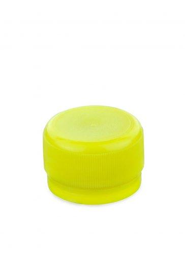 Schraubverschluss PCO 28 gelb für PET Kunststoffflaschen