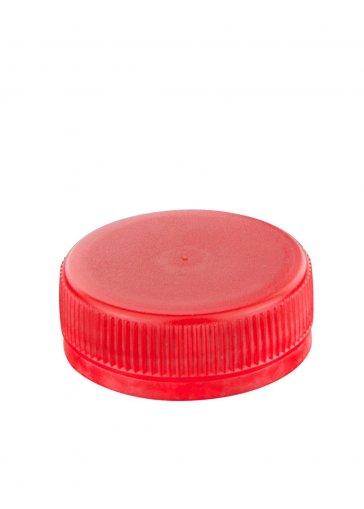Schraubverschluss 38 rot für PET Kunststoffflaschen
