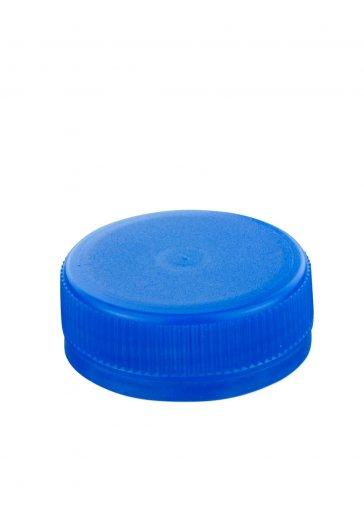 Schraubverschluss 38 blau für PET Kunststoffflaschen