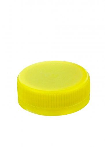 Schraubverschluss 38 gelb für PET Kunststoffflaschen