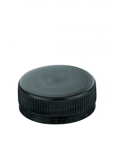 Schraubverschluss 38 schwarz für PET Kunststoffflaschen