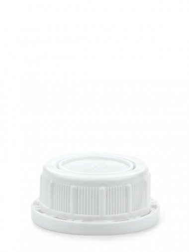 Schraubverschluss 35 mm weiß