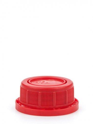 Schraubverschluss 35 mm rot