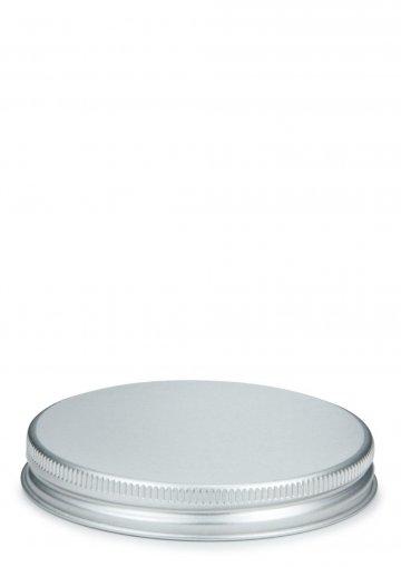 Alu Schraubdeckel silber mit EPE Einlage 70 mm