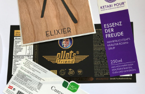 Etiketten, Etikettierung und Direktdruck – unser Service an Sie.