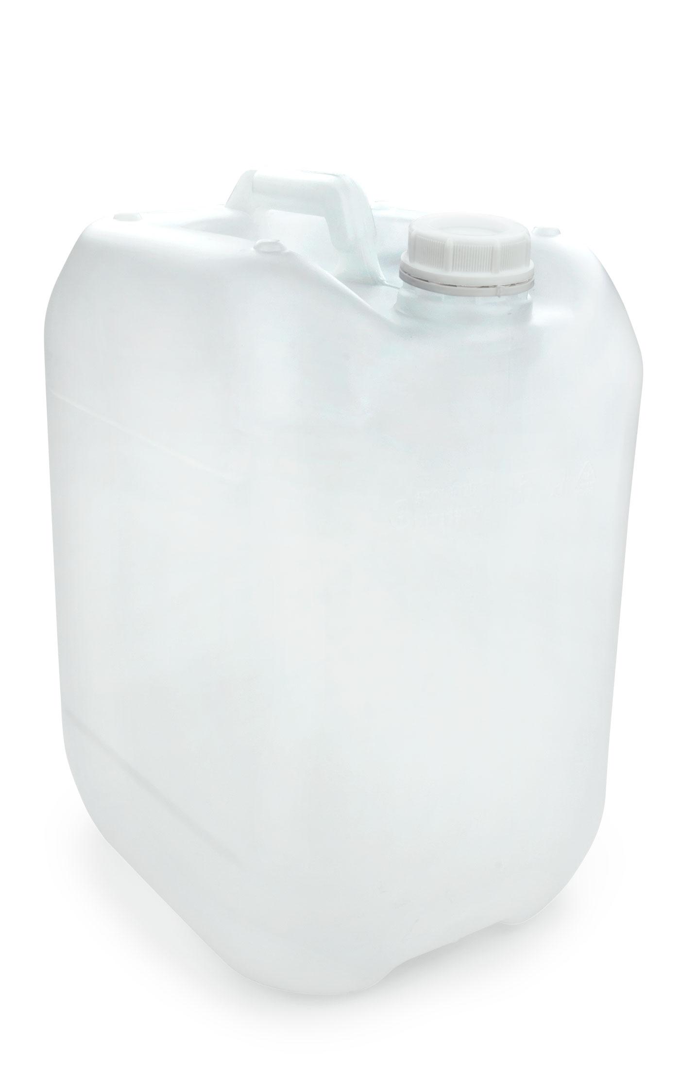 Wundervoll Kunststoff Kanister natur 20 Liter UN stapelbar mit  SX99