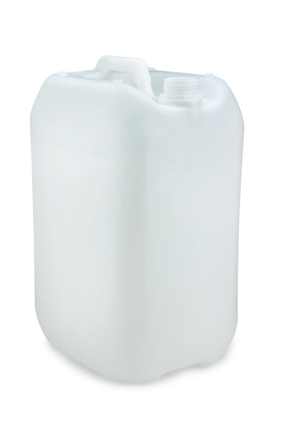 kunststoff kanister natur 25 liter un stapelbar ohne. Black Bedroom Furniture Sets. Home Design Ideas