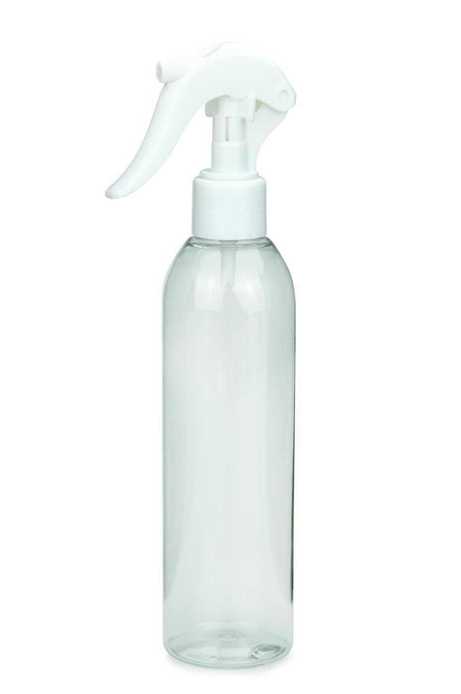 pet flasche aida 250 ml klar mit mini trigger spr hzerst uber 24 410 wei. Black Bedroom Furniture Sets. Home Design Ideas