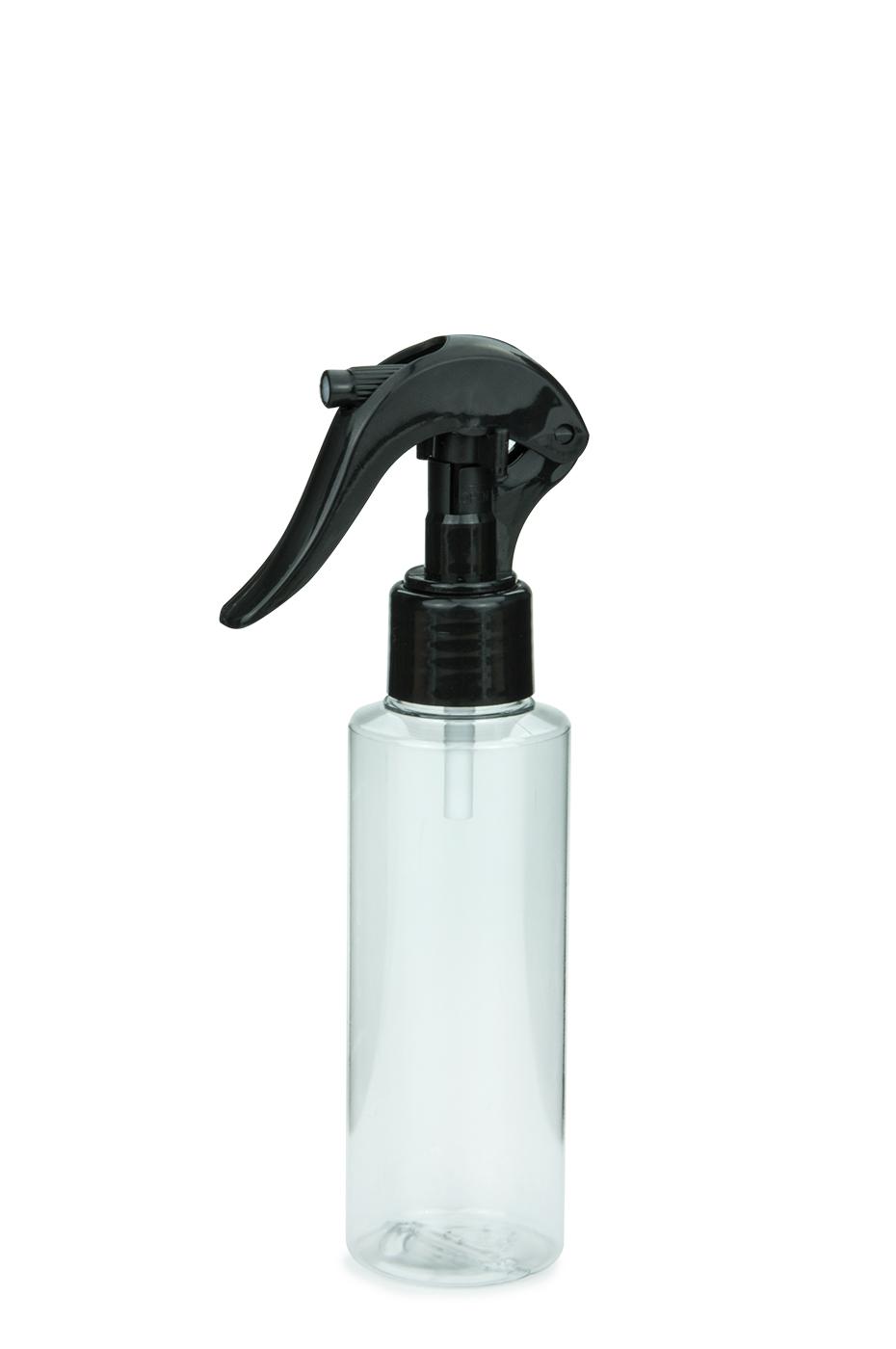pet flasche leonora 125 ml klar mit mini trigger spr hzerst uber 24 410 schwarz. Black Bedroom Furniture Sets. Home Design Ideas