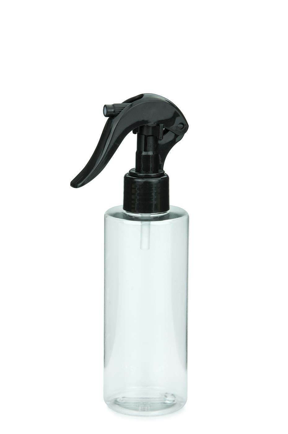 pet flasche leonora 200 ml klar mit mini trigger spr hzerst uber 24 410 schwarz. Black Bedroom Furniture Sets. Home Design Ideas