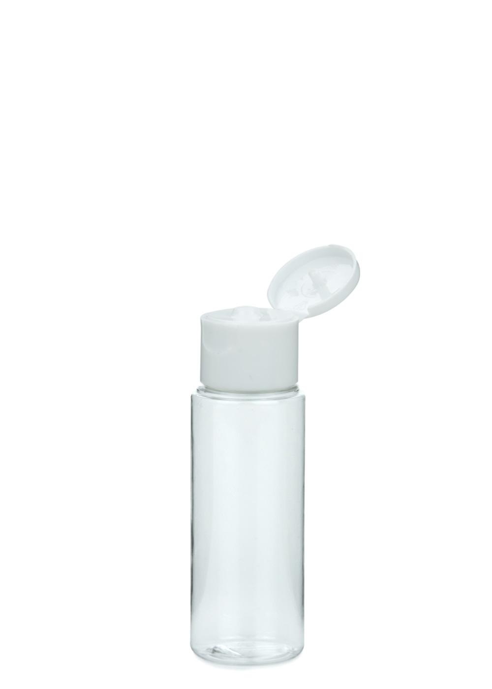 pet flasche leonora 50 ml klar mit klapp. Black Bedroom Furniture Sets. Home Design Ideas