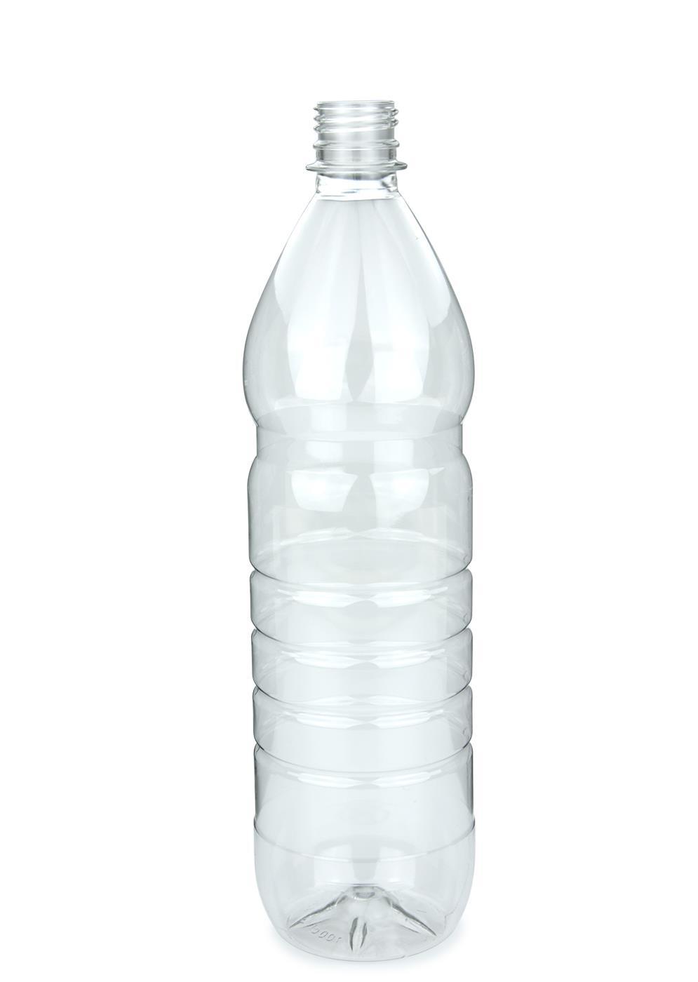 Pet Flasche F 252 R Lebensmittel Klar 1000 Ml Ohne Verschluss